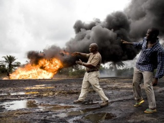 shell_gas_flare_ogoni